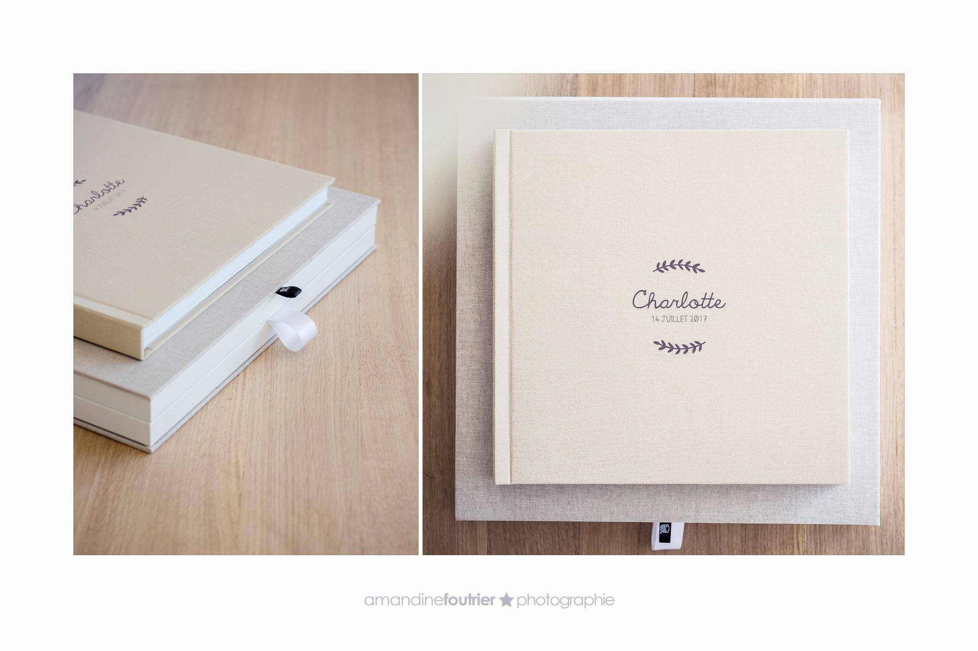 Livre Lin Beige + Impression Monochrome – Coffret Lin naturel beige