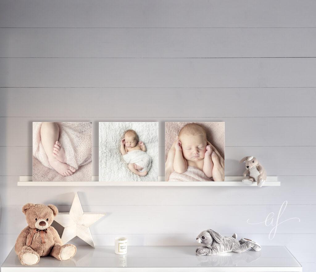composition photo bébé studio professionnel